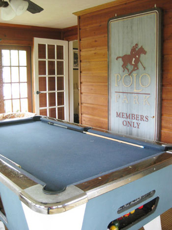 House Crashing Green Acres - Honeycomb pool table