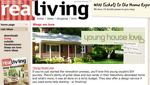 real living australia blogs welove young house love new