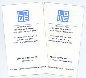 2004 Business Cards