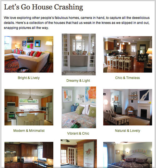 house crashing page featured house tours young house love