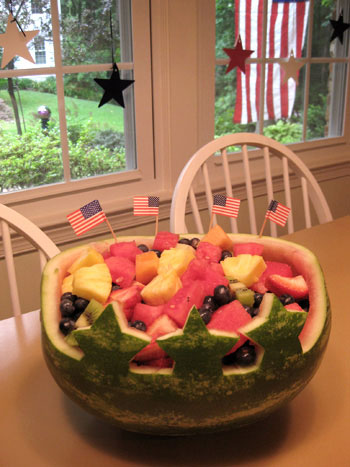 watermelon-centerpiece