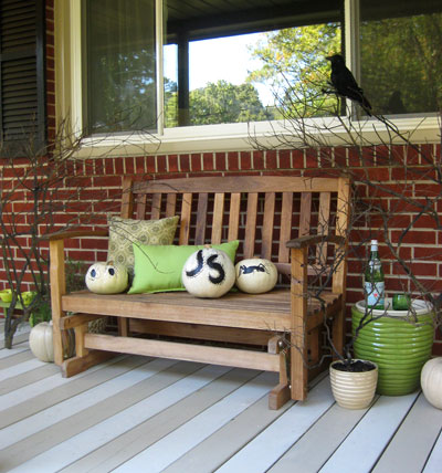 front porch bench plans
