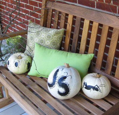 Making Puffy Paint Pumpkins They Re Not As Cheesy As It