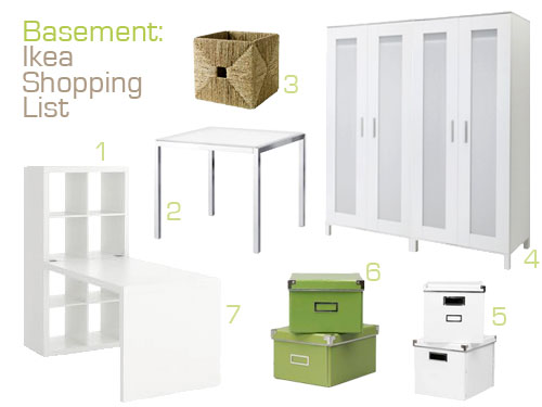Adding lots of basement storage young house love for Basement storage ideas ikea