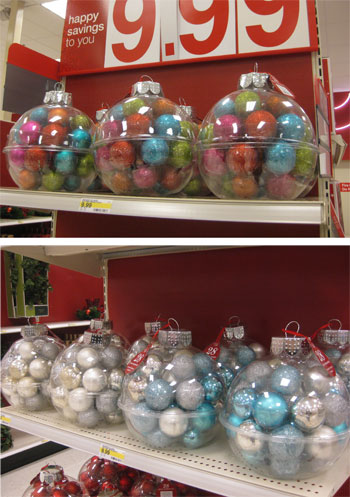 window shopping its target time young house love - Christmas Ornaments Target