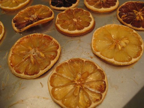 Citrus Christmas Tree Making Dried Orange Slice Ornaments