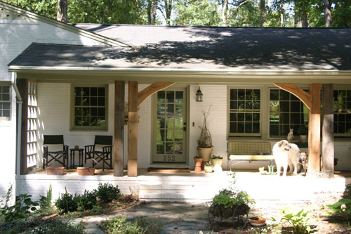 Reader redesign curb appeal insanity young house love for Redesign your home exterior