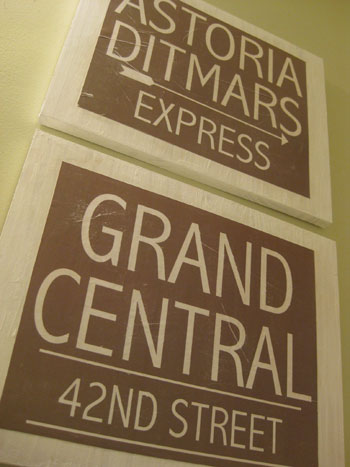 making vintage looking wall signs with wood paper. Black Bedroom Furniture Sets. Home Design Ideas