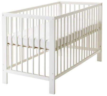 Admittedly They Were Both Amazingly Priced And We Actually Know Of At Least  Three Happy Babies With These Affordable And Stylish Ikea Cribs So By No  Means ...