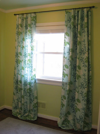 How To Make No-Sew Curtains (And Make A Window Look Way Bigger ...