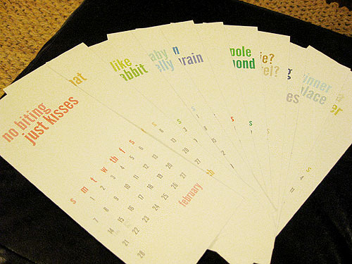 Homemade Calendar With Pictures : Making a homemade calendar free printable included