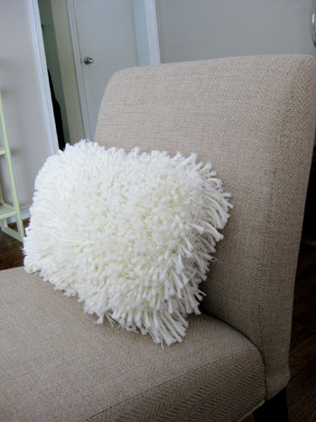 feeling sheepish making a faux sheepskin rug part 1 young house love