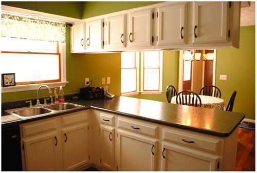 Reader Redesign: A Cheap-o Kitchen Overhaul | Young House Love
