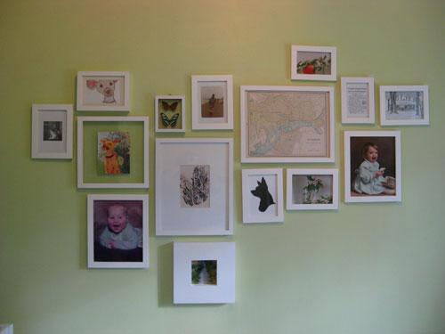 Nursery Progress: Adding Some Art | Young House Love
