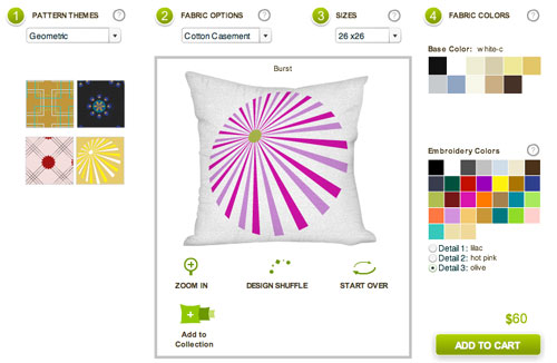 pillows design to make
