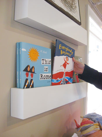 How To Make Wall Shelves For Books In The NurseryYoung House Love