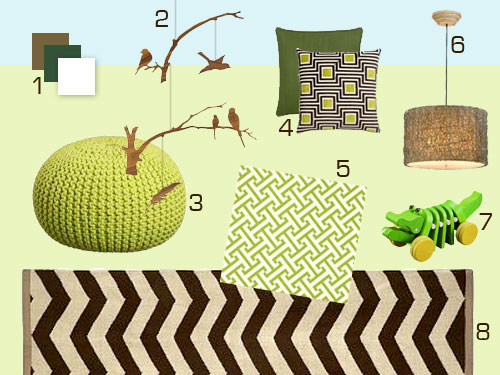 What If Baby P Was A He? Mood Board Ideas For A Boy Nursery ...