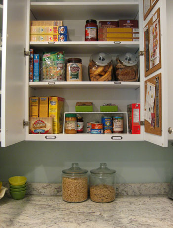 Organizing Our Kitchen Cabinets Spices Pantry Items More