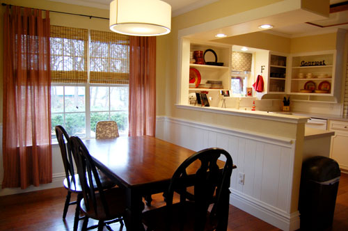 Internal Knock Through Between Kitchen And Dining Room: Reader Redesign: Affordable Kitchen Overhaul