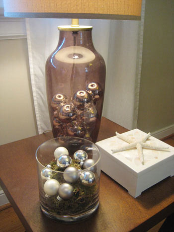 coffee table xmas decorations
