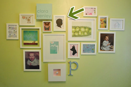 Wall Art Idea: How To Make A Silhouette Of Your Baby\'s Profile ...