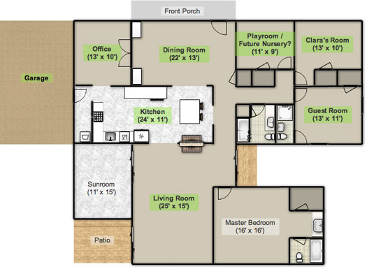 The Floor Plan, Stan | Young House Love