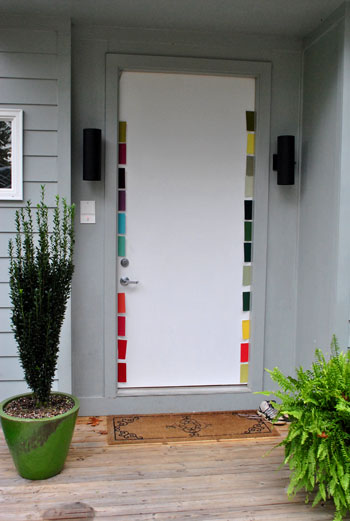 Picking A Happy Yellow Green Front Door Color