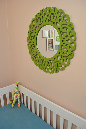 Wall Art Goes Up In Clara\'s Nursery | Young House Love