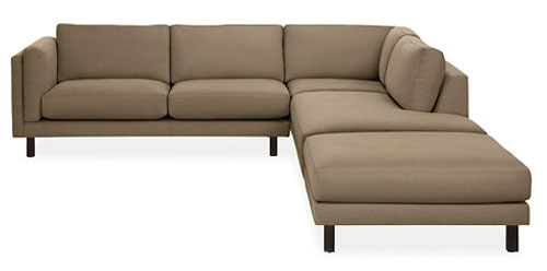 Exceptional Room U0026 Board Sectional Sofa Part 20