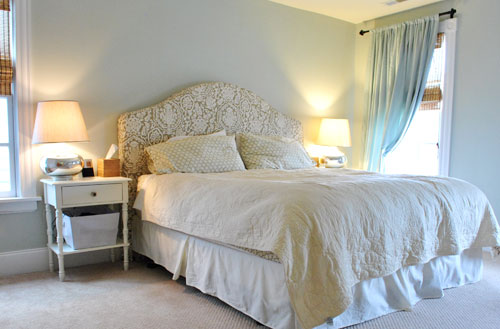 house crashing stellar  for sale  young house love, Bedroom decor