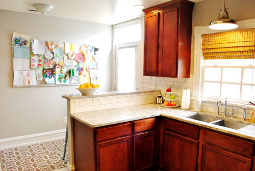 Wall Light Over Kitchen Sink : House Crashing: Stellar (& For Sale!) Young House Love