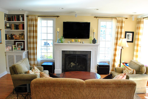 Simple family room