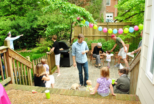Hosting A House Party For Clara S First Birthday Young