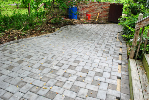 How to build a paver patio its done young house love how to build a paver patio its done solutioingenieria Choice Image