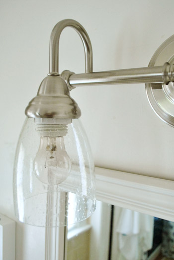 Bathroom light globes