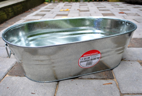 Good Making An Herb Garden In A Metal Tub
