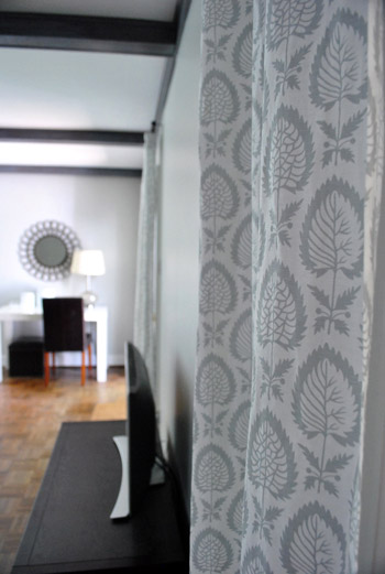 Curtains Ideas chevron curtains ikea : Eight More Living Room Curtains | Young House Love