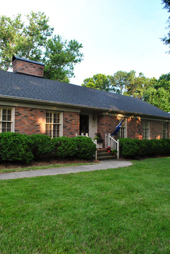 Cool Brick Ranch Home Exterior Makeovers Brick Ranch Exterior Makeover Largest Home Design Picture Inspirations Pitcheantrous