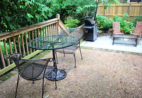 Nice Spray Painting A Metal Outdoor Table u Chairs With Oil Rubbed Bronze Young House Love
