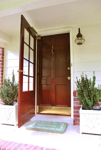 How To Paint Your Front Door & How To Paint Your Front Door | Young House Love Pezcame.Com