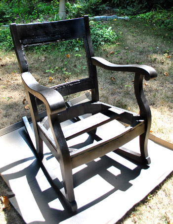 Redoing An Old Rocking Chair Part Two & Redoing An Old Rocking Chair: Part Two | Young House Love