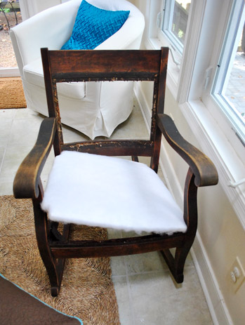 redoing an old rocking chair part 1 young house love