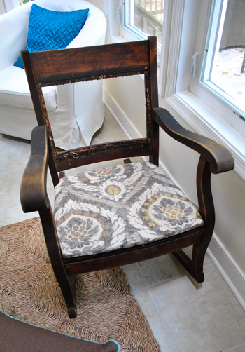 Redoing An Old Rocking Chair Part Two Young House Love