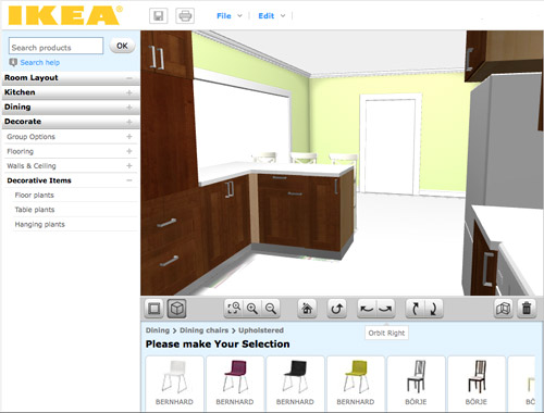 online tools for planning a space in 3d young house love - Ikea Kuchenplaner 3d