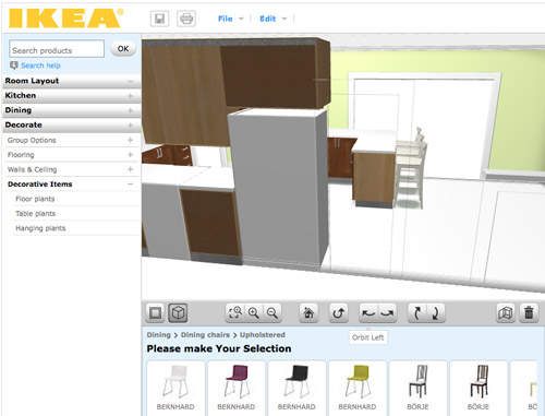 online tools for planning a space in 3d - Ikea Kuchenplaner 3d