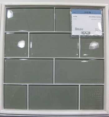 This Moody Gray Glass Subway Tile Was $18.99: