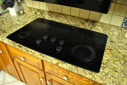 Stove Countertop Replacement : Based on the installation manual (which I looked up online), I should ...