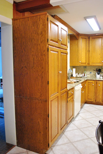 Shifting Cabinets And Appliances For A New Kitchen Layout | Young ...