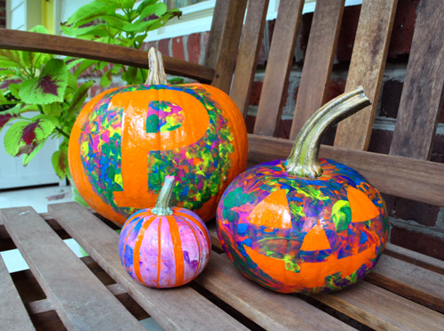 Four No Cut Pumpkin Decorating Ideas For Kids Young