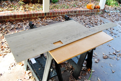 Concrete Backer Board : How to hang cement backer board for a wall full of tile